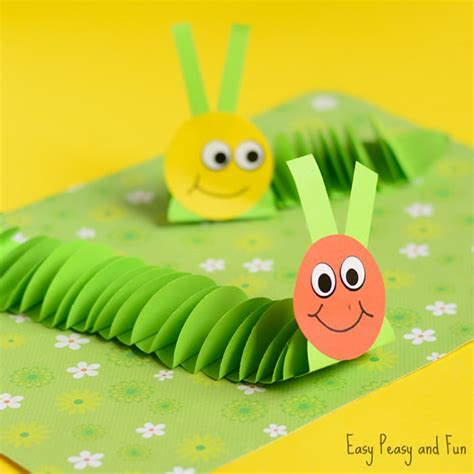 paper crafts for teenagers paper caterpillar craft paper circles crafts easy