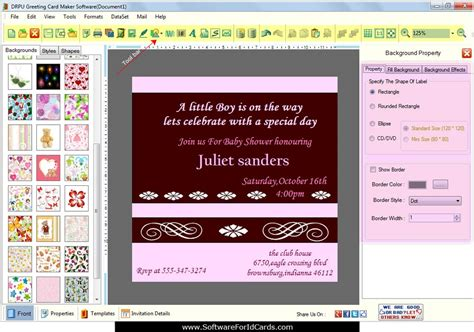 card program greeting cards designing software design new year