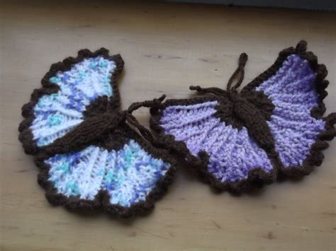 knitted butterfly margarets designer cards knitted butterflies