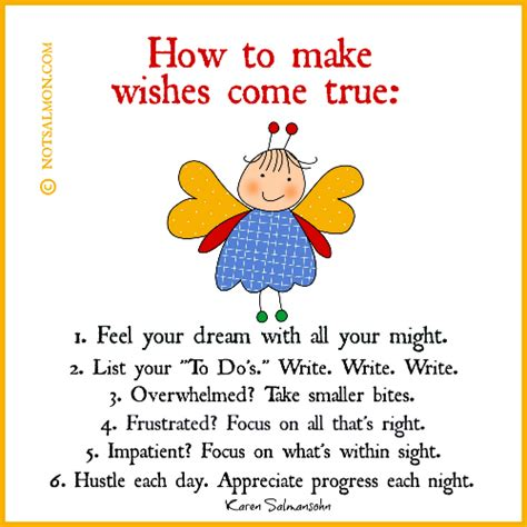 How To Make Wishes Come True Salmansohn