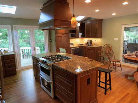 kitchen islands with stove beautiful kitchen island with range top gl kitchen design