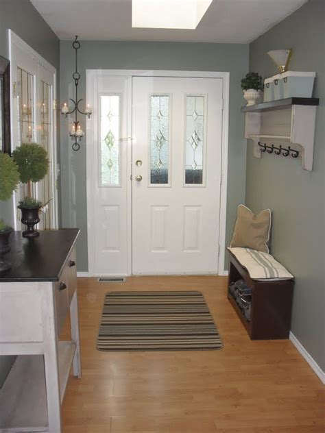 paint colors for foyer home frosting newly painted entryway