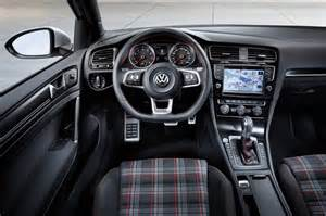 photo golf 7 gti interieur