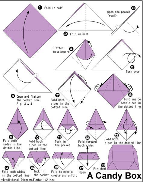 origami box step by step box tutorial instrucciones para realizar una
