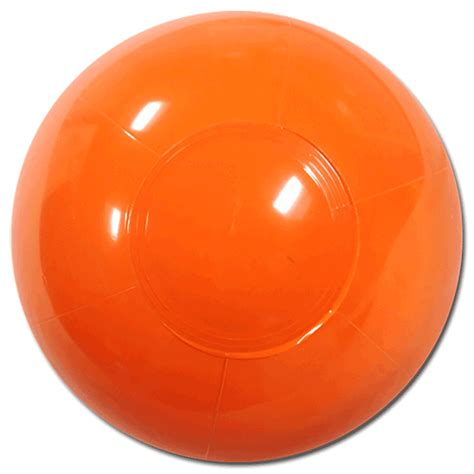 largest selection of balls 6 inch solid orange