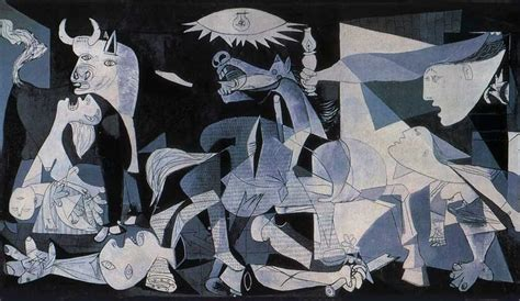 The Impact Of War Guernica By Pablo Picasso