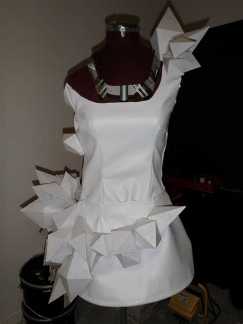 origami costume gaga origami dress sewing projects burdastyle