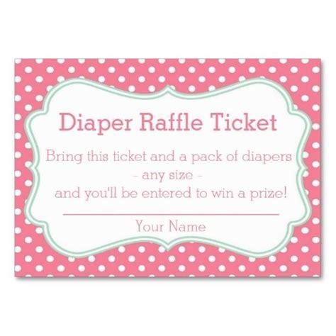 diaper raffle ticket template new calendar template site