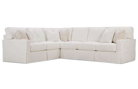 slipcovered sectional sofa furniture pretty slipcovered sectional sofa for comfy