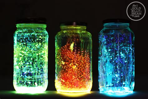 glow in the paint jars diy glow jars top diy ideas