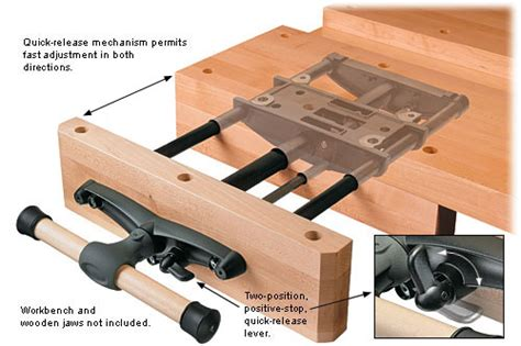 installing a woodworking vise veritas 174 release front vise valley tools
