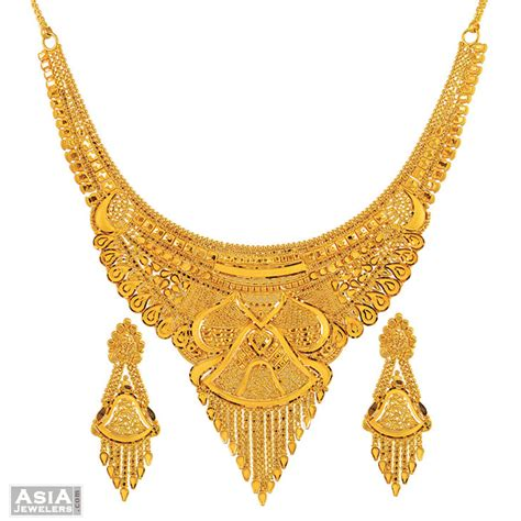 jewelry gold gold necklace set gold jewellery gold
