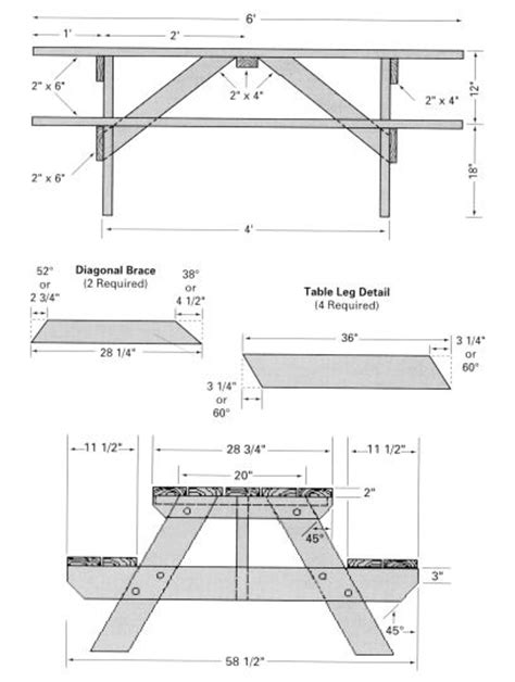 woodworking plans picnic table free picnic table woodworking plans