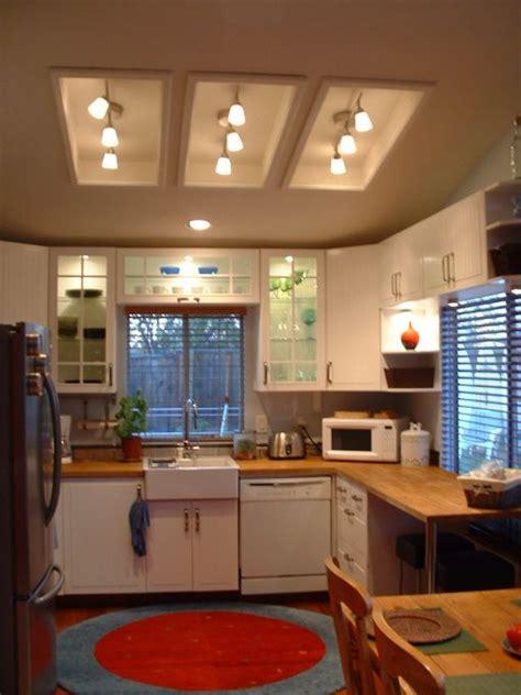 replace fluorescent light fixture in kitchen best 25 fluorescent kitchen lights ideas on