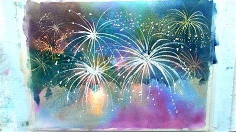 spray paint fireworks how to paint fireworks part 2