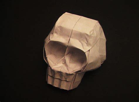 skull origami origami skull flickr photo