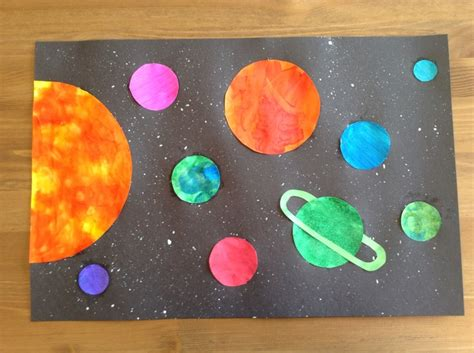 solar system arts and crafts for solar system craft preschool craft space craft