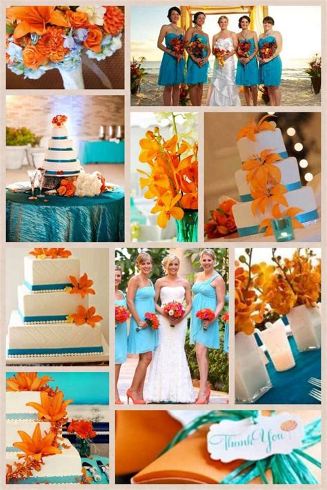 orange color theme best 25 orange wedding colors ideas on