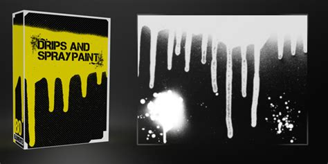 spray paint definition drips and spray paint pack 40 brushes 40 textures