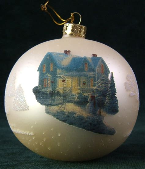 kinkade ornaments uk kinkade quot blessings of quot tree ornament ebay