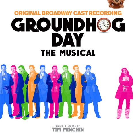 groundhog day musical groundhog day the musical original broadway cast