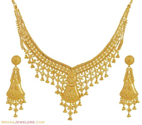 indian necklace indian gold necklace gold jewellery indian