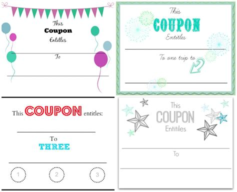 make cards coupon code make your own coupons free printables home