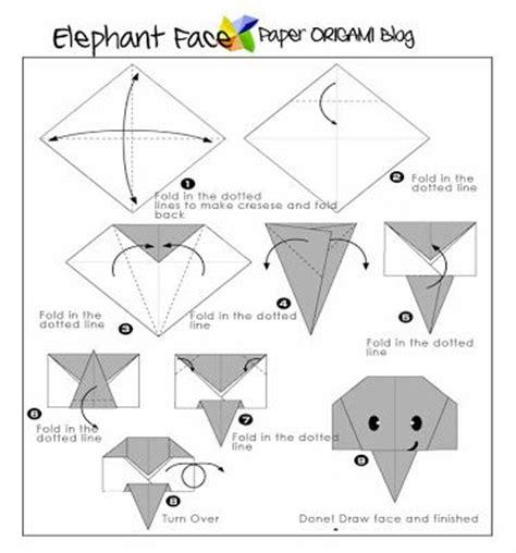 how to fold origami elephant easy origami elephant origami