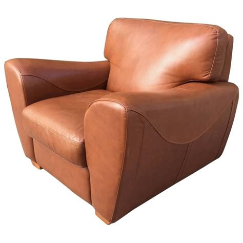 leather oversized chair oversize italian leather club chair for sale at 1stdibs