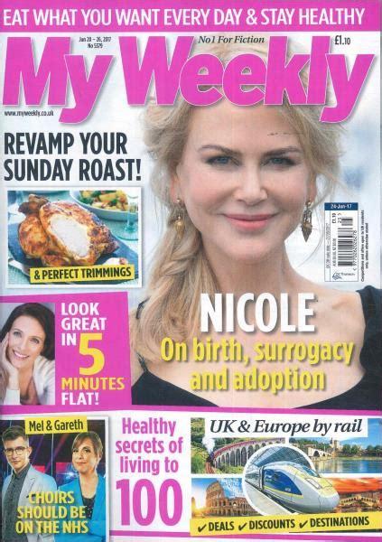 weekly magazines my weekly magazine subscription buy at uniquemagazines co uk