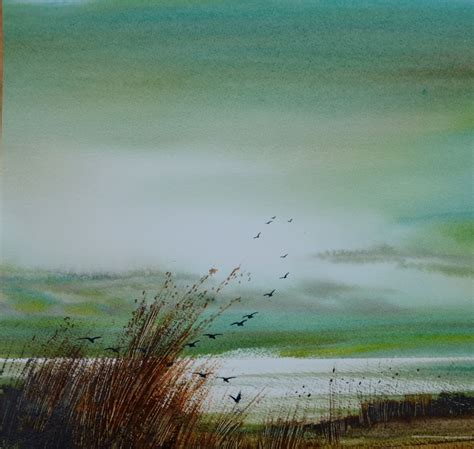 Painting With Light keith nash landscape and marine artist in watercolours