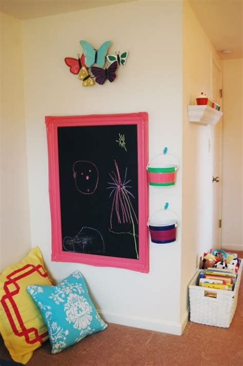 chalkboard for room 20 cool ideas to use chalkboards in a kid s room kidsomania