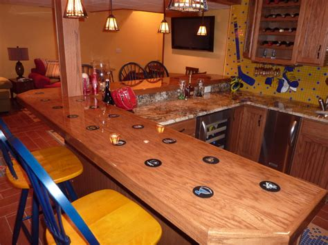 sports themed basement ideas sports themed bar eclectic basement st louis by c