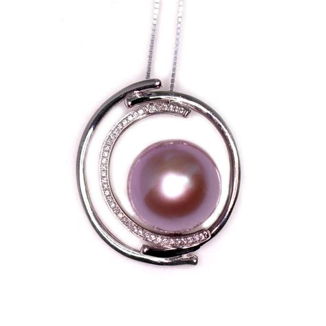 pearl pendants for jewelry pink moon pearl necklace from timeless pearl