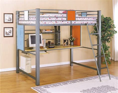 how to build a bunk bed with desk 100 how to build a loft bed with desk underneath 11