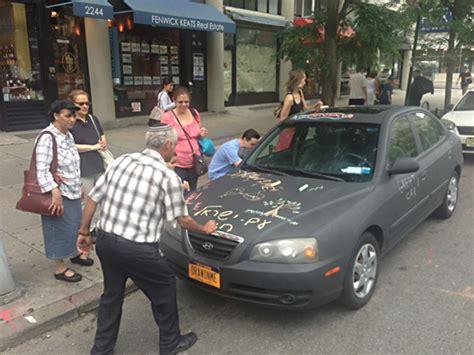 chalkboard car painting draw on me chalkboard car things