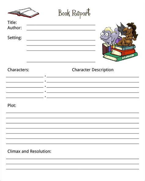 book pdf in book report template print paper templates