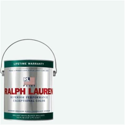 home depot semi gloss paint colors ralph 1 gal brilliant white semi gloss interior