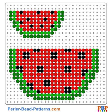 hama bead template printable watermelon perler bead pattern and designs bead sprites