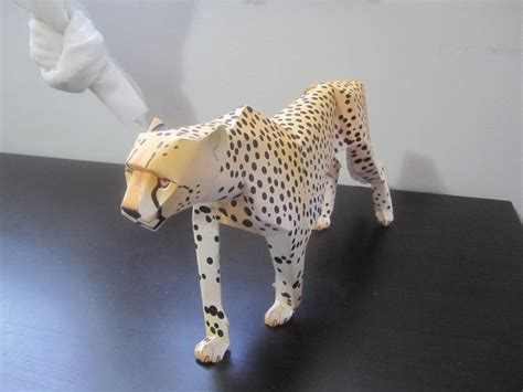 cheetah crafts for cheetah papercraft by odolwa5432 on deviantart
