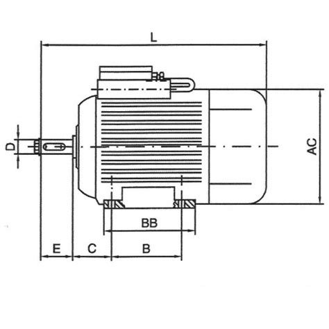 Motor Electric 220v 2 2kw Pret by Motor 2 2kw 230v B3 3000 100