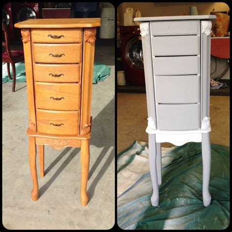 chalk paint jewelry armoire pin by angela armstrong on chalk paint projects