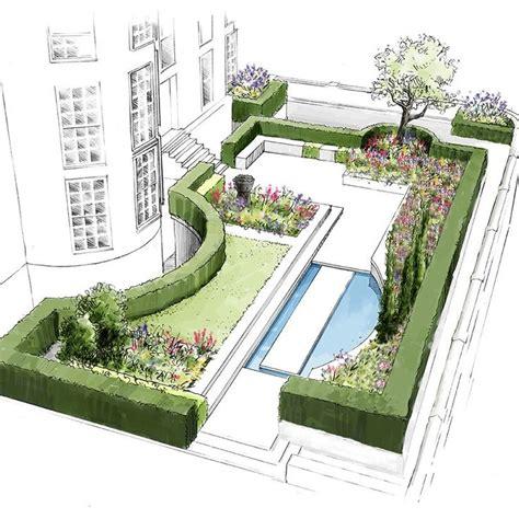 garden home house plans 383 best rendering plan elev images on