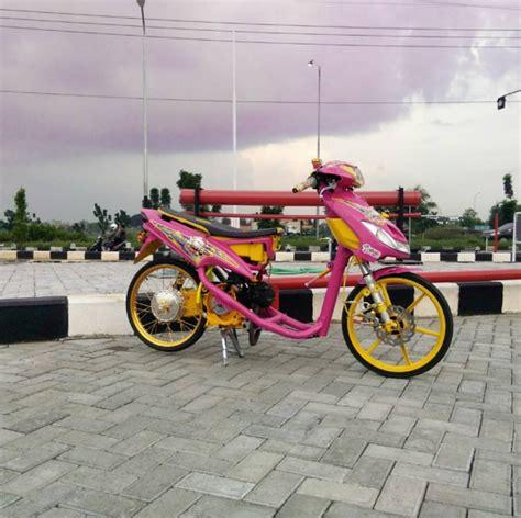 Drag Style Modifikasi by Gambar Modifikasi Mio Drag Racing Paling Keren 2017
