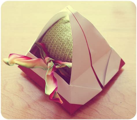 origami gift basket the better nester origami how to paper gift basket