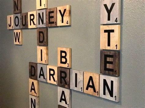 scrabble names wall best 25 scrabble wall ideas on living