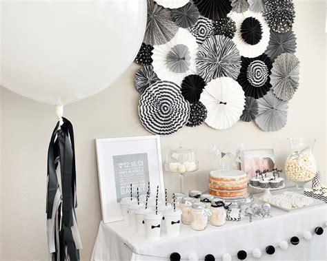 black and white theme black and white decorations decorations