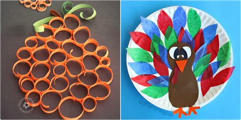 www crafts 33 easy thanksgiving crafts for thanksgiving diy