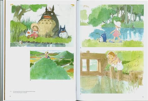my totoro picture book remembrance of things past ghibli books my