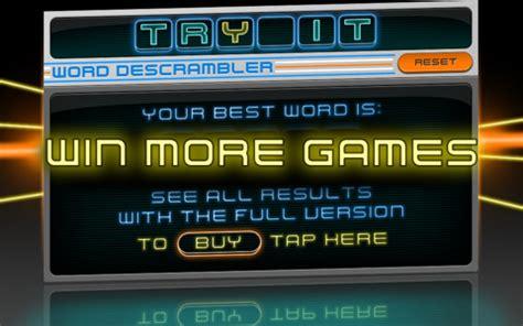 descrambler scrabble word descrambler lite scrabble assistant app for